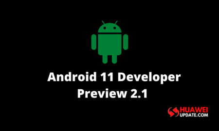 Android 11 Developer Preview 2.1