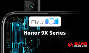 Honor 9X series EMUI 10.1