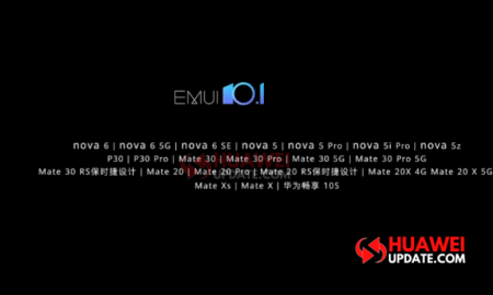 These 22 Huawei phones to get EMUI 10.1 update