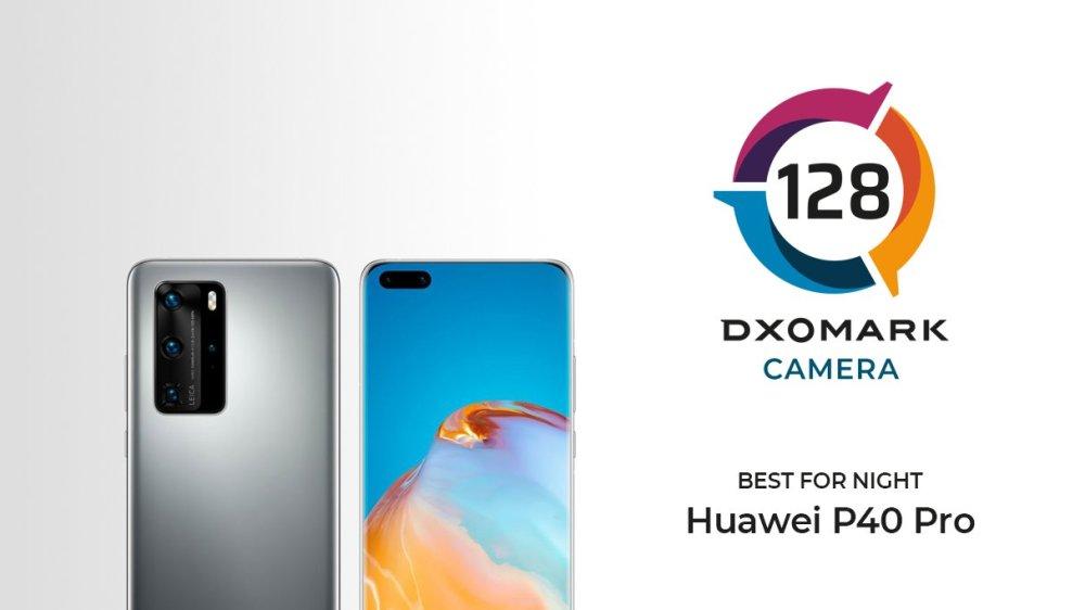 DXOMARK Best for Video - Huawei P40 Pro