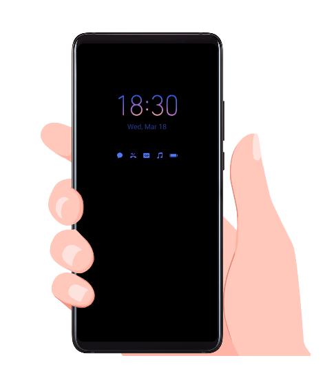 EMUI 10.1 Always On Display