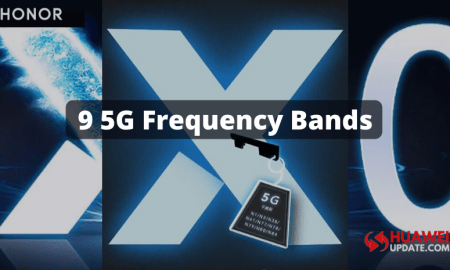 Honor X10 5G frequency bands