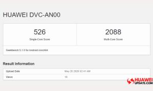 Huawei DVC-AN00