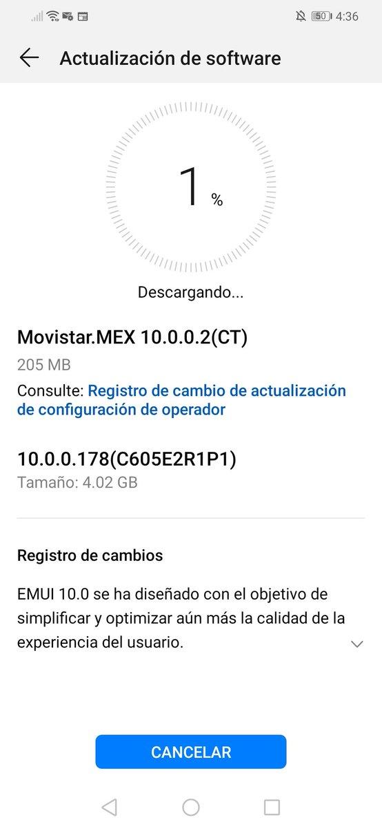 Huawei Mate 20 Lite EMUI 10 Mexico