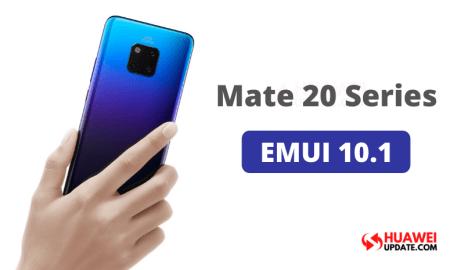 Huawei Mate 20 Series EMUI 10.1Public Beta