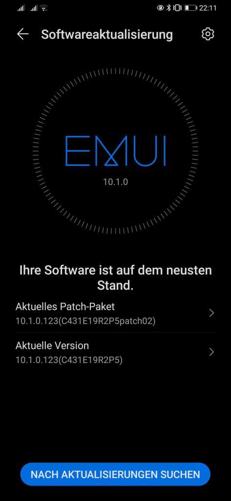 Huawei P30 Series EMUI 10.1 Update In Germany