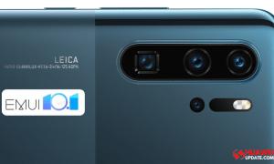 Huawei P30 Series Stable EMUI 10.1 update