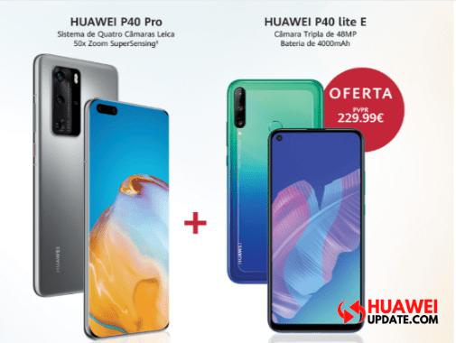 Huawei P40 Pro + Huawei P40 Lite E Campaign Portugal