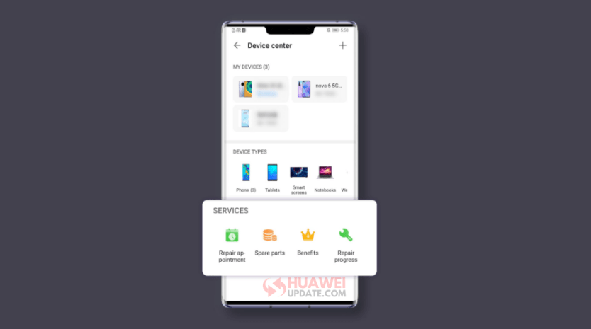 Huawei Support App Device Center-3