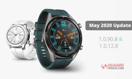 Huawei Watch GT May 2020 Update