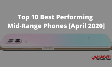 Top 10 Best performing Mid-Range Phones