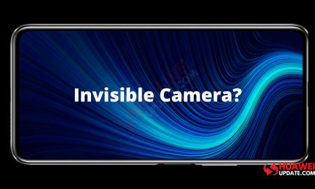 Under-display Camera Huawei Coming Soon