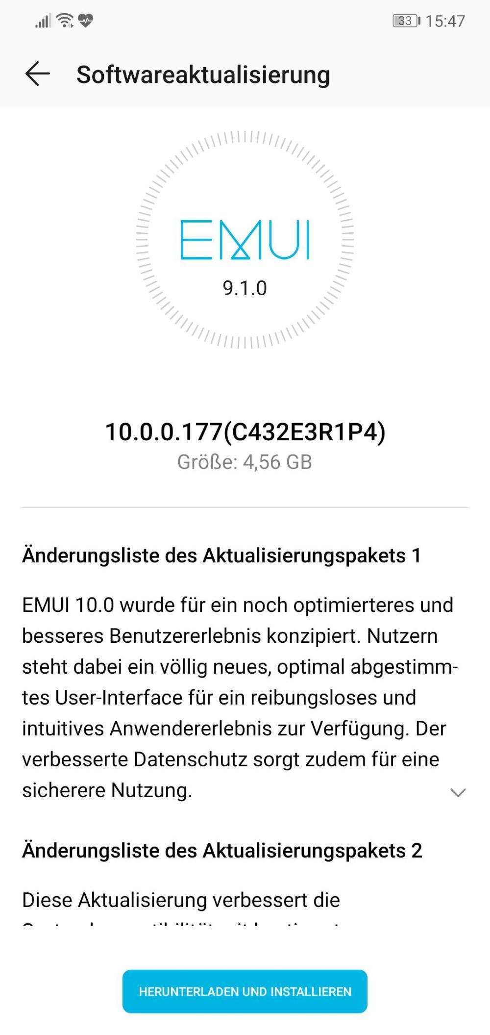 Honor 10 EMUI 10 Germany