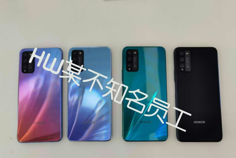 Honor 30 Youth Edition aka 30 Lite back colors