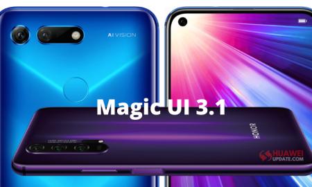 Honor v20 and Honor 20 Series Magic UI 3.1