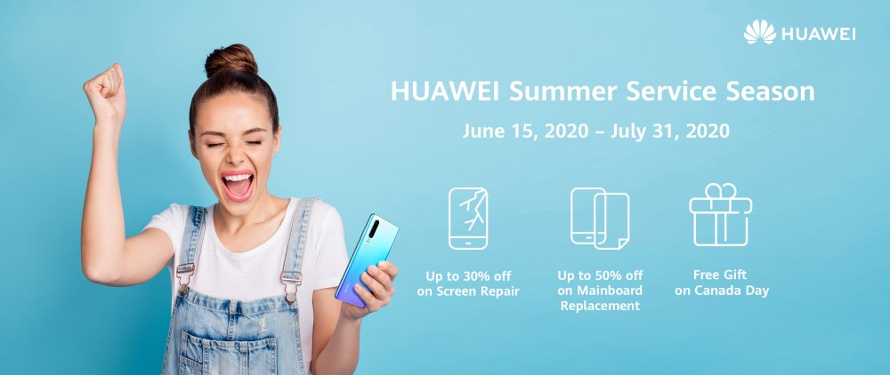 Huawei Summer Service Season Canada