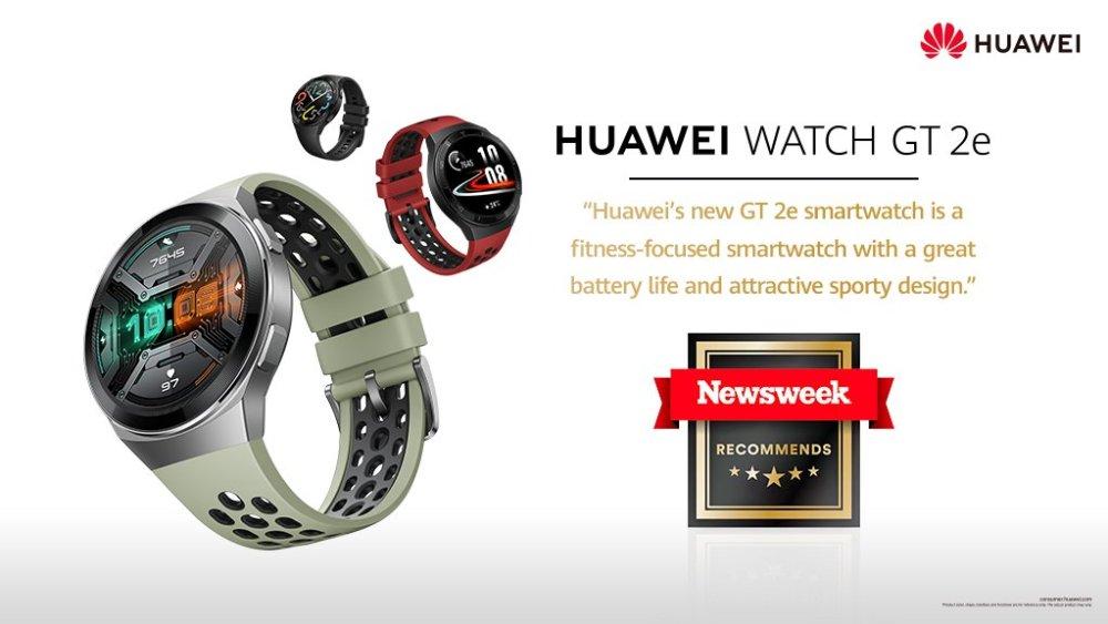 Huawei Watch GT 2e Review - NewsWeek