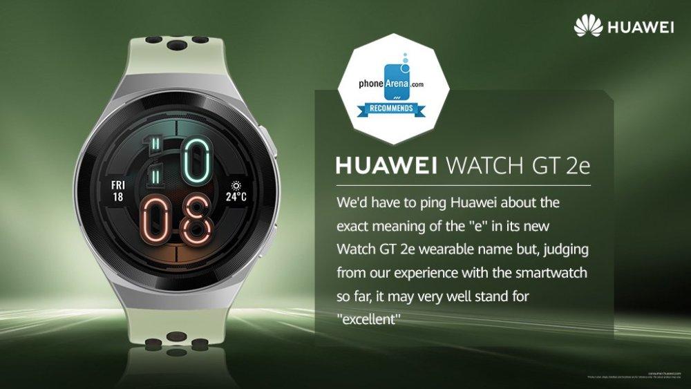 Huawei Watch GT 2e Review - PhoneArena