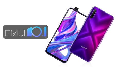 Honor 9X and 9X Pro EMUI 10.1