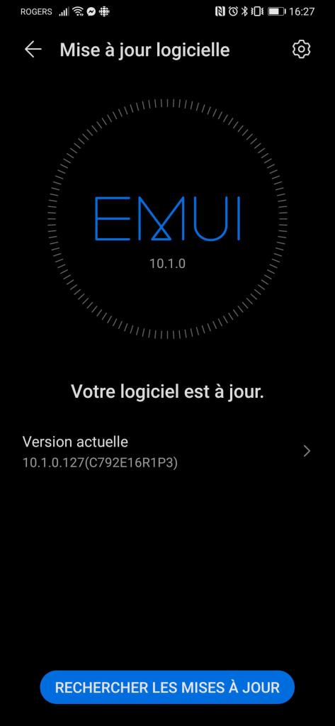 Huawei P30 Pro EMUI 10.1 Canada