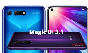 Honor V20 Magic UI 3.1
