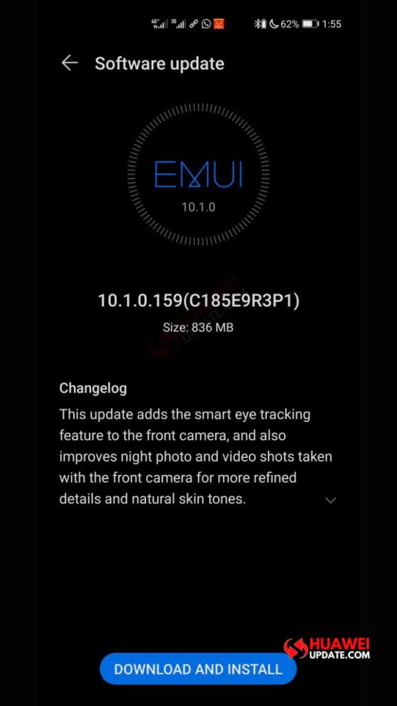 Huawei P40 Pro EMUI 10.1.0.159