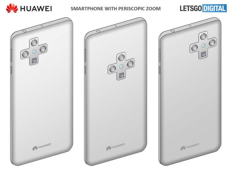 Huawei Smartphone with in-display selfie camera-2