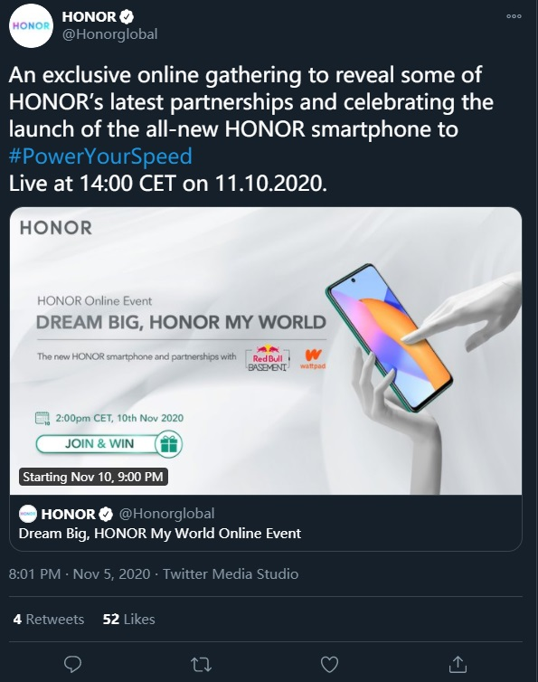 Honor X10 Lite Global Launch Date