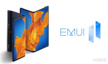Huawei Mate Xs EMUI 11 Update
