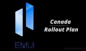 EMUI 11 rollout in Canada
