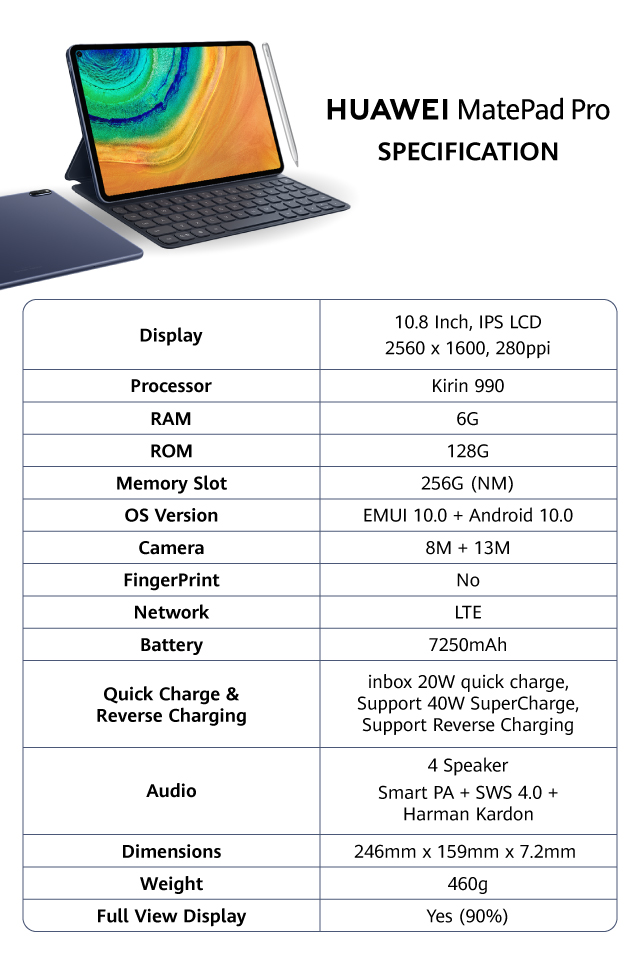 Huawei MatePad Pro Indonesia