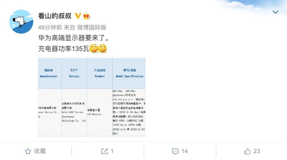 Huawei Monitor 3C