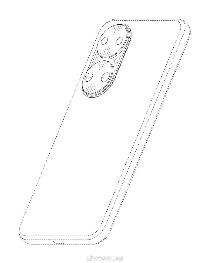Huawei P50 Standard Edition CAD image-2
