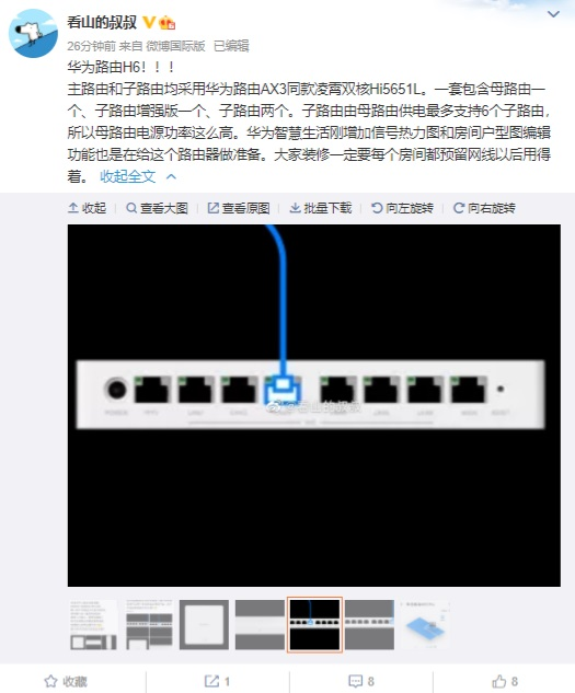 Huawei Router H6