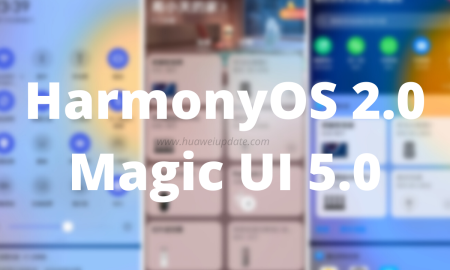 HarmonyOS 2 and Magic UI 5