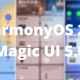 HarmonyOS 2 and Magic UI 5