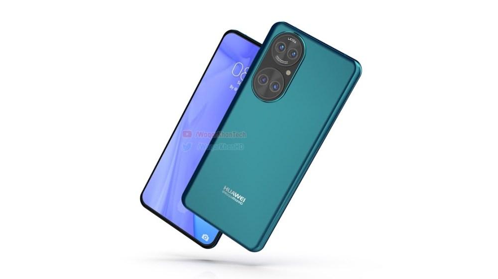 Huawei P50 new render -2