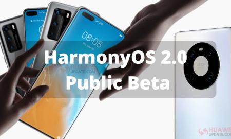 HarmonyOS 2.0 public beta - Mate 40 and P40