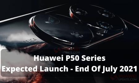 Huawei P50 Series July 2021