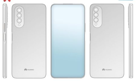 Huawei under display camera