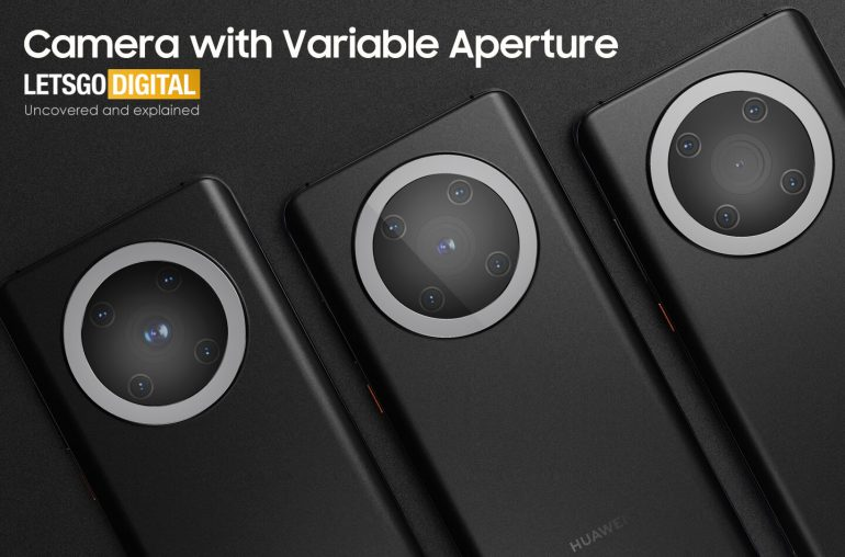 Huawei Camera with variable aperture