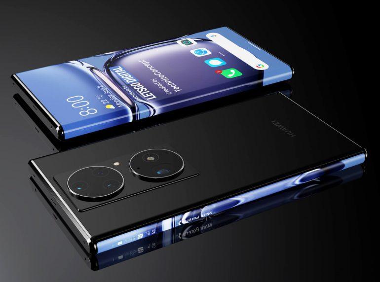 Huawei Mate 50 with Arc display concept image 2- LetsGoDigital