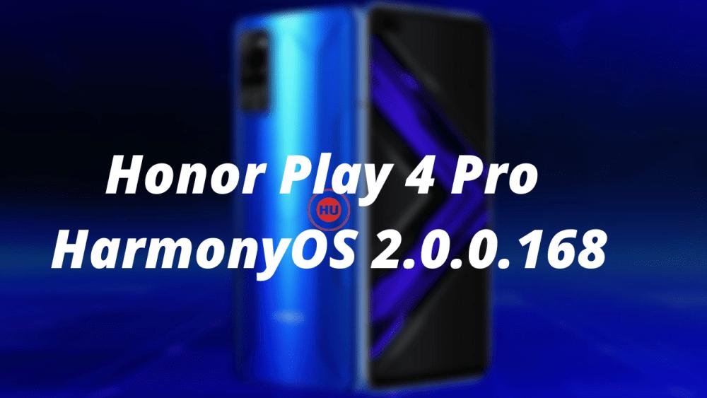 Honor Play 4 Pro HarmonyOS 2.0.0.168
