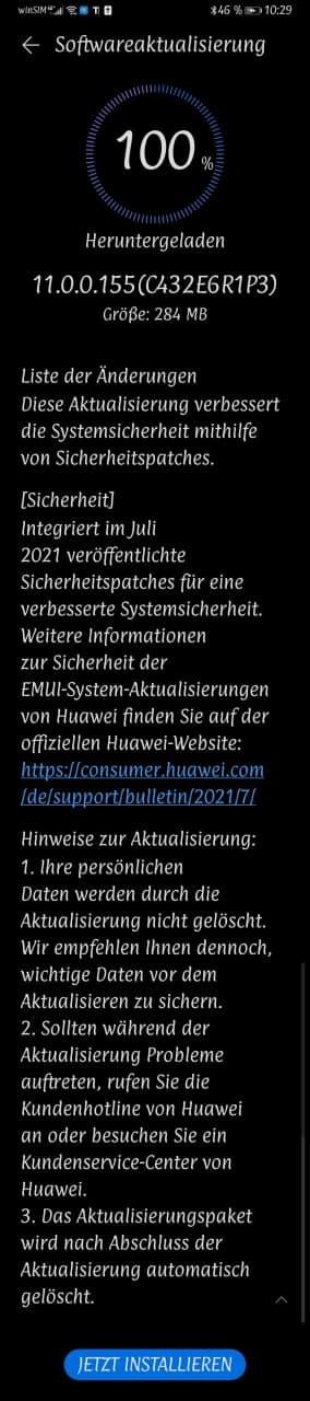 Huawei Mate 20 X EVR-L29 11.0.0.155