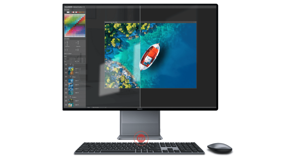Huawei MateStation X image