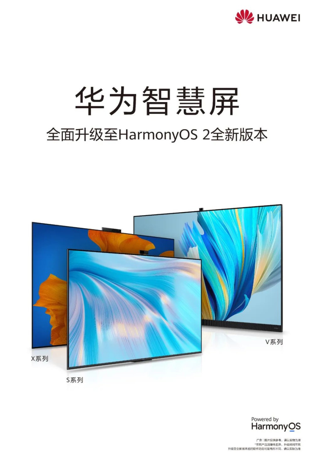 Huawei Smart Screen now fully upgraded to HarmonyOS 2