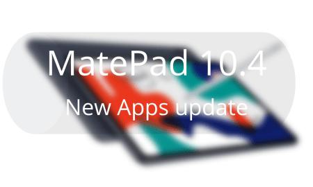 MatePad 10.4 update