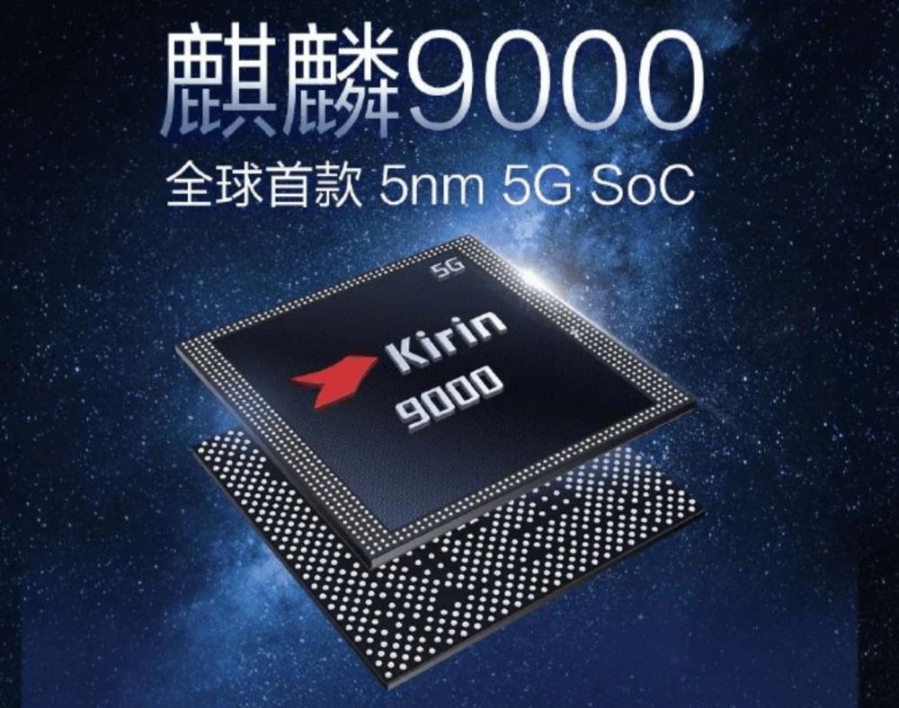Kirin 9000 4G phone