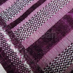 Office Chair Upholstery Fabric Gym Exercise Manual Sofa Fabric,upholstery Fabric,curtain Manufacturer Striped Chenille Purple