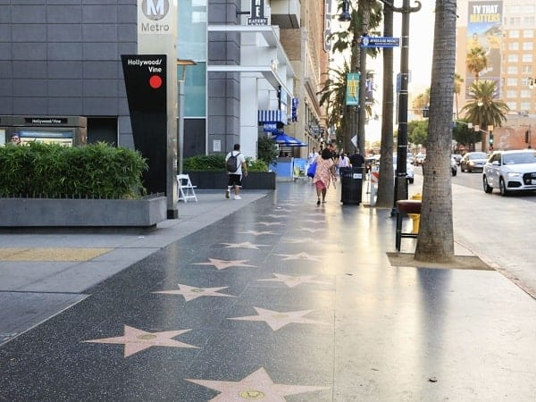 Walk of Fame, Hollywood, Los Angeles, California